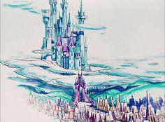 scurviesdisneyblog:  Cinderella's Castle
