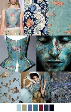 age-of-enlightenment color palette pattern trend. For more follow www.pinterest.com/ninayay and stay positively #inspired