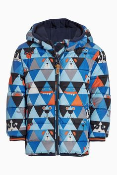 Buy Geometric Character Paded Jacket (3mths-6yrs) online today at Next: United States of America