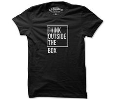 Outside The Box T-Shirt - You know you're a Whovian when you see this and think: There's a better box to be used there...