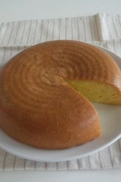 Sweet potato cake made in a rice cooker