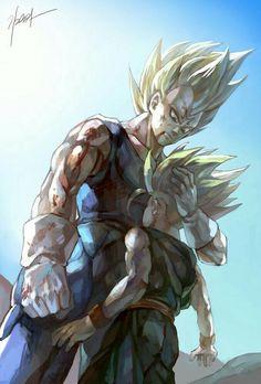 Vegeta & Trunks - Dragon ball z