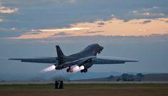 "Bomber aircraft ""Lancer"""