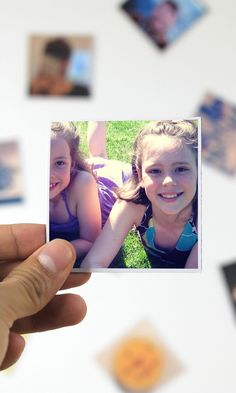 these cute magnets can be made with photos from your instagram, camera-roll or desktop