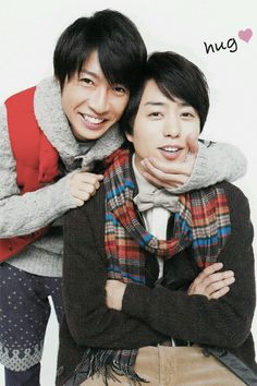 Masaki Aiba and Syo Sakurai
