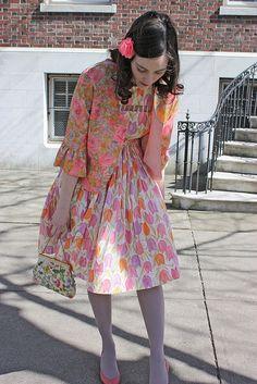 A pink eleganza! #vintage #style