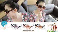 แว่นกันแดดพรีออเดอร์เกาหลีจาก UI SHOP Korea สามารถสั่งซื้อได้ที่ www.icandecor.com