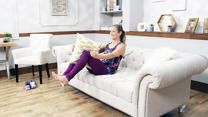 The Lazy Girl's Couch Workout  - It's Only 10 Minutes!