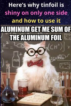 You've probably packed food using aluminum foil countless times. But, have you noticed that there are two sides to the aluminum foil? If you are very curious, you'd be asking why it is made that way.