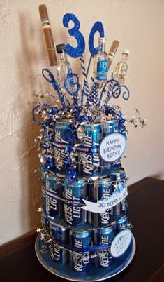 Beer cake 30 beers for 30 years!