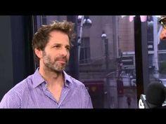 #ManofSteel Director, Zach Snyder interview. VIDEO