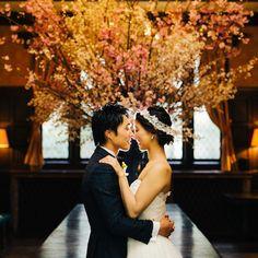 小笠原伯爵邸にてご結婚式♪ アーネラクロージングの素敵な花嫁様♪