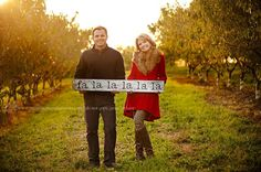 Funny Christmas Card Poses | christmas card poses for couples - munchkins and mohawks photography
