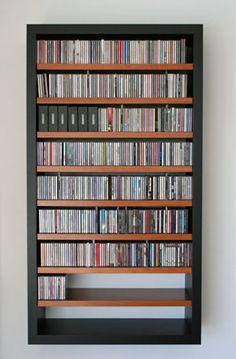CD/DVD ##shelfwith large frame