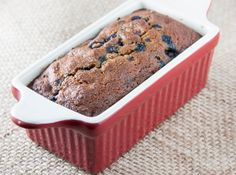 Blueberry Breakfast Bread #glutenfree #paleo #dairyfree