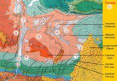 Mapa geològic de la Conca de #Tremp #geologyc map #pallarsjussa