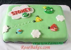 Angry Birds Birthday Cake - Google Search