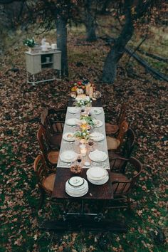 What better way to enjoy fall than with a tea party?