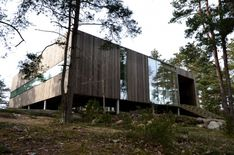 Casa Cuadrada en Veierland by Reiulf Ramstad Arkitekter AS (Nøtterøy, Noruega) #architecture