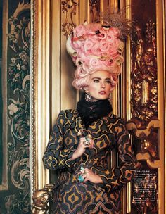 'All the Riches a Girl Can Have,' Ymre Stiekema photographed by Giampaolo Sgura for Vogue Japan, October 2012