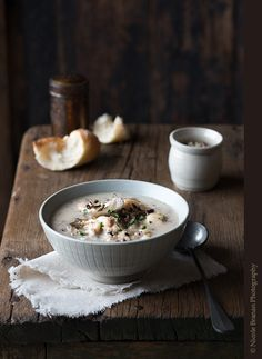 Chicken and Wild Rice Mushroom Soup - The Spice Train