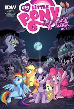My Little Pony: Friendship Is Magic: Vol. 7 by Katie Cook https://www.amazon.com/dp/1614793824/ref=cm_sw_r_pi_dp_OSdzxb9BTW7C9