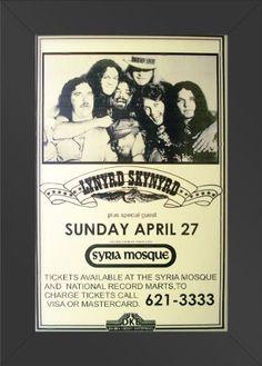 11x17 FRAMED Poster Print CONCERT Lynyrd Skynyrd Live Show Sunday April 27 Innerwallz http://www.amazon.com/dp/B008B8DH26/ref=cm_sw_r_pi_dp_HeHQtb0RJASN72CT