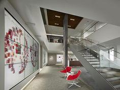 Verizon Innovation Center, San Francisco, CA. IES Interior Lighting Design International Award of Excellence 2014. Architect: Nelson (Photo: Halkin/Mason Architectural Photography)