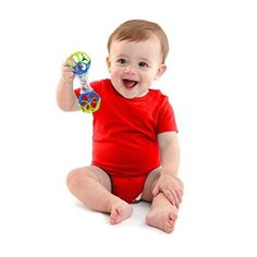 Baby will love being able to shake, rattle and teethe all at once. This is sure to become one of baby's favorites. Textured rattle is clear so baby can see the colorful beads. Colorful rattle beads create fun sounds to entertain and delight baby. Newborn Needs, Baby Needs, Newborn Toys, Baby Toys, 6 Month Old Baby, Baby Necessities, Baby Swings, Baby Learning, Learning Activities