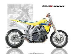 Suzuki dirt tracker concept from Suzuki, awesome! Custom Sport Bikes, Custom Motorcycles, Baggers, Bobber, Dr 650, Suzuki Sv 650, Z 1000, Suzuki Cars, Honda