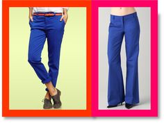 Gap vs. Tibi: Battle of the Blue Pants!