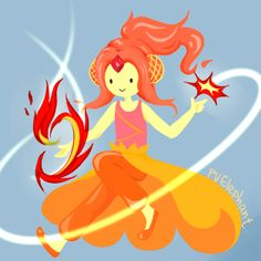 Flame Princess Ignition Point - adventure-time-with-finn-and-jake Fan Art