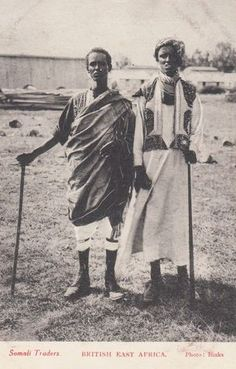 East Africa Somali Traders c1910