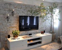 Interior Design Living Room, Living Room Decor, Bedroom Decor, Tv Wanddekor, Home Panel, Living Room Tv Unit Designs, Tv Wall Decor, Home And Living, House Design