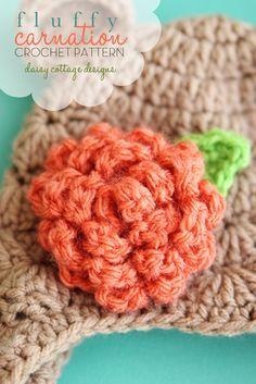 free carnation crochet pattern