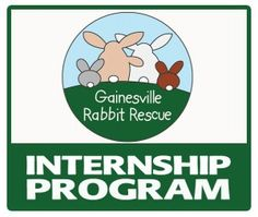 Gainesville Rabbit Rescue's 2014-2015 Internship Program is now accepting applications for the Fall! This program offers a rewarding opportunity to gain animal care experience with rabbits (considered an exotic animal) as well as shelter management experience. → → Deadline: August 15th ← ← #rescue #animalwelfare #internship #uf