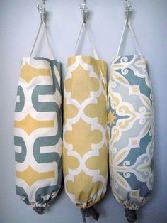 Ideas para almacenar las bolsas de plástico en tu hogar