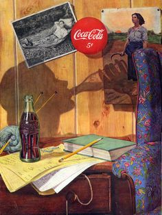Vintage Coke/ Coca-Cola Advertisements of the (Page Coca Cola Poster, Coca Cola Ad, Always Coca Cola, World Of Coca Cola, Coca Cola Bottles, Vintage Coca Cola, Vintage Advertisements, Vintage Ads, Vintage Posters