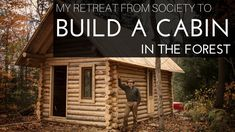 In this video Shawn James shows the entire process of building an off girds log cabin from the cutting of the first tree to the laying of the last floor board - no food, no talking, no visitors, just carpentry, bushcraft, timber framing, blood, sweat and tears. Shawn's end goal is to have an off gri…