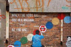Graffiti Writing su edificio industriale di Amsterdam-Noord