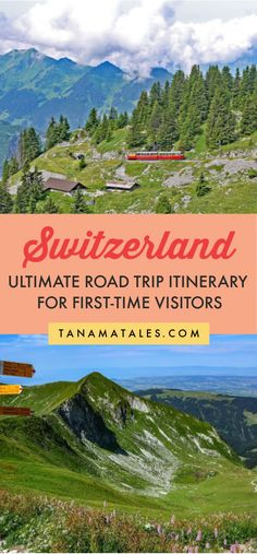 This itinerary will show you how to prepare for the most epic Switzerland road trip! Get ready to discover Zurich, Zermatt, Bern, Locarno and more! Switzerland Summer, Switzerland Cities, Switzerland Vacation, Visit Switzerland, Switzerland Itinerary, Zermatt, Lausanne, Europe Travel Guide, Travel Guides