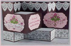 Heartfelt Creations   Bella Rosebuds Tri Fold Cards