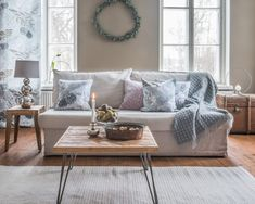 Pentik is an international interior design retailer, who wants to bring northern beauty and cosiness to homes. Christmas Cushion Covers, Christmas Cushions, Piano, Throw Pillows, Interior Design, Table, Furniture, Watercolours, Plywood