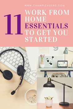 11 Work From Home Essentials You Need To Have Today - ChampLeaders Leadership Tips, Leadership Development, Communication Skills, Effective Communication, Business Management, Management Tips, Workplace Motivation, Team Activities, Career Inspiration