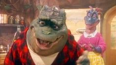 """Earl Sinclair, the dad from the 1990s sitcomDinosaurs, performs """"Hypnotize"""" by The Notorious B.I.G. thanks to some creative editing by Benjamin Roberts. The original music video for """"Hypnotize""""--w..."""