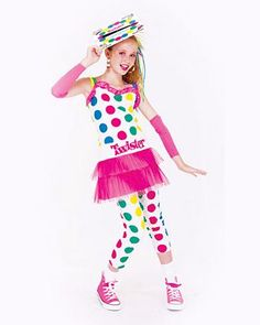 Tween Twister Pink Girl's | Wholesale Humorous Halloween Costumes for Girls Costumes