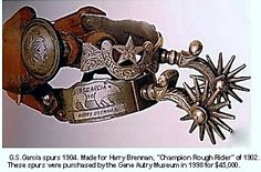 G.S. Garcia Spurs 1904  *beautiful