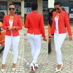 Blazer || Zara Top || cotton on Jeans || sissy boyShoes || LouboutinShades || Versace