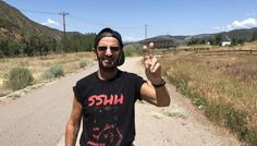 Beatles legend Ringo Starr hiking Colorado high country, digging it
