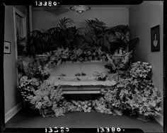 From the Harvard Art Museums' collections Untitled (Miss Gertrude Proctor in casket surrounded by flowers) Harvard Art Museum, Book Of The Dead, Memento Mori, Casket, Victorian, Bury, Thought Provoking, Museums, Flowers